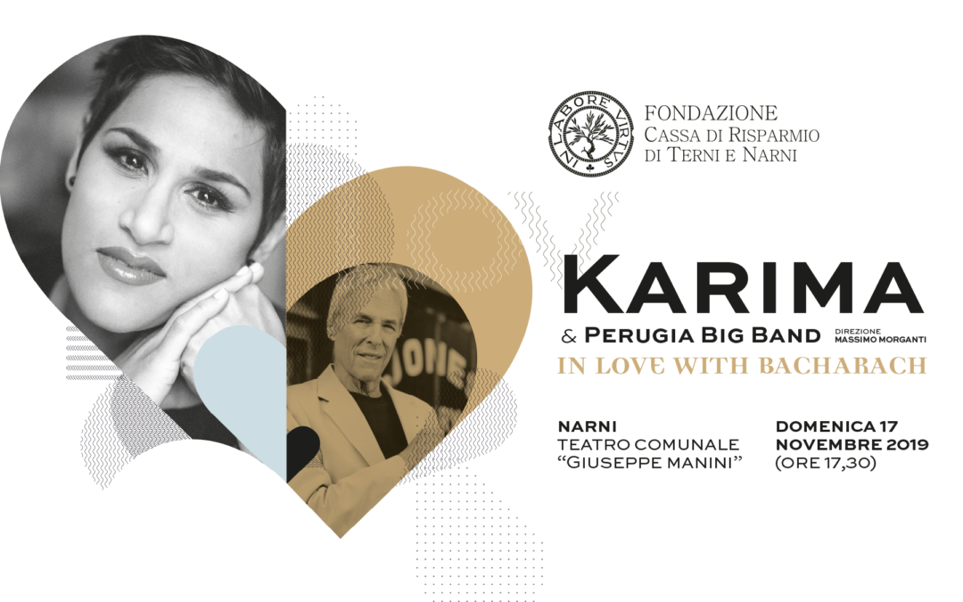 Karima & Perugia Big Band In Love With Bacharach