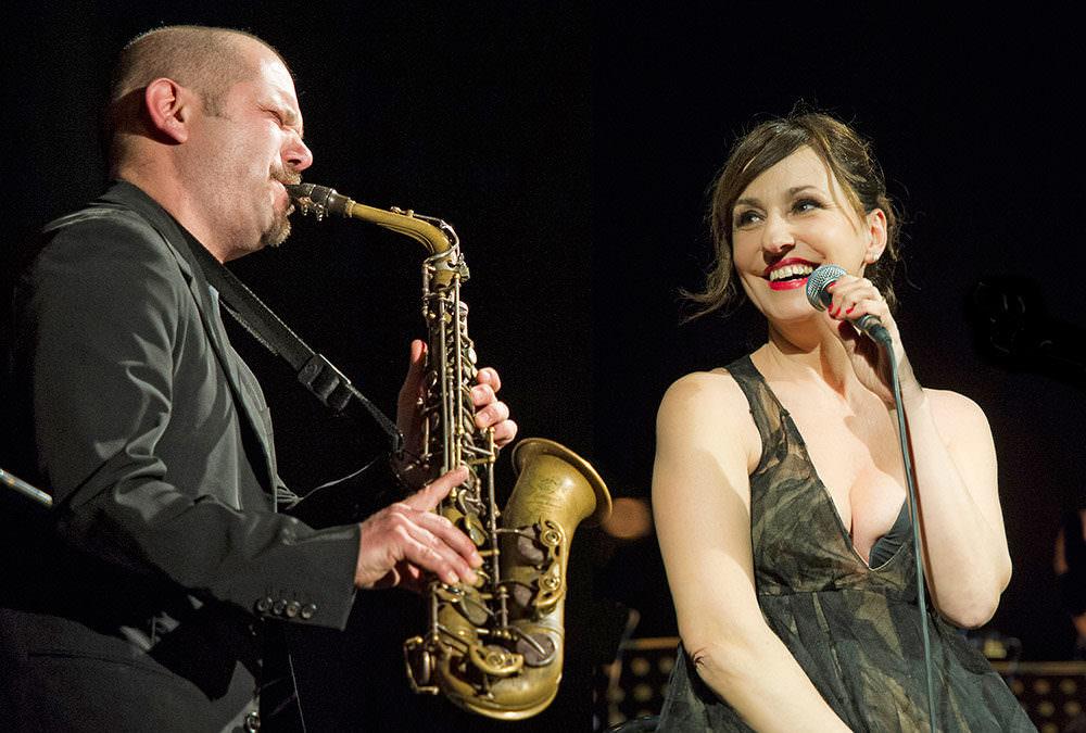 "Nicky Nicolai & Stefano Di Battista Jazz 4tet ""Mille Bolle Blu"""