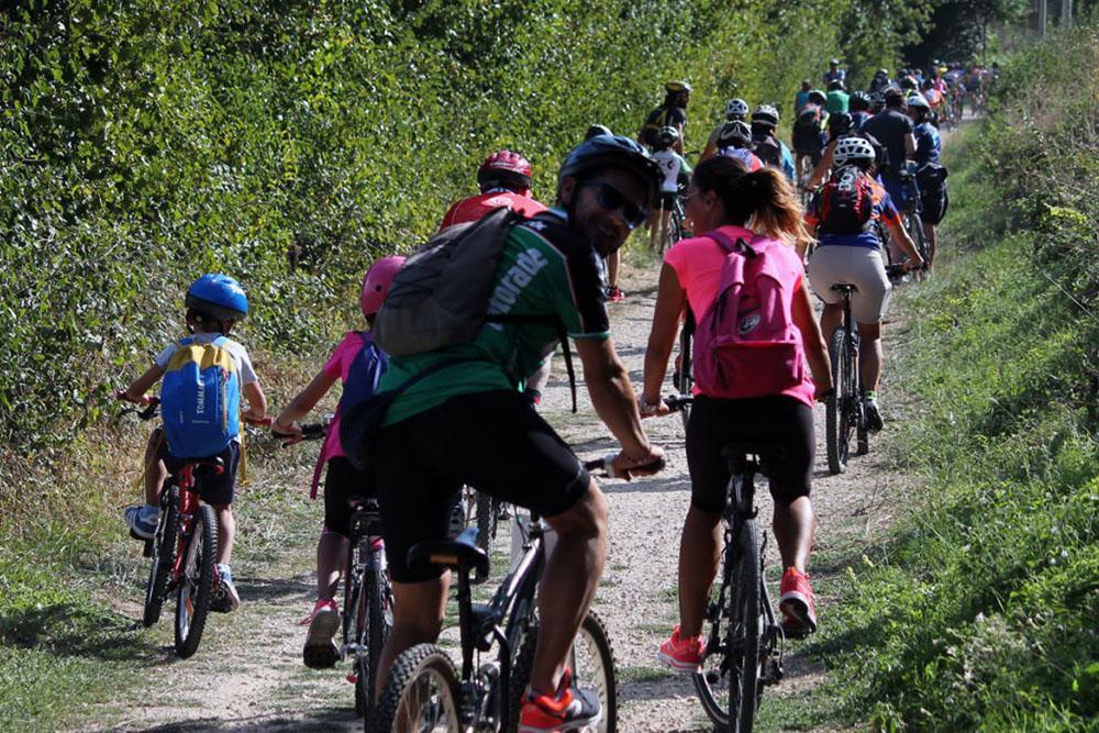 La Valentina racconta Passeggiata in Mountain bike