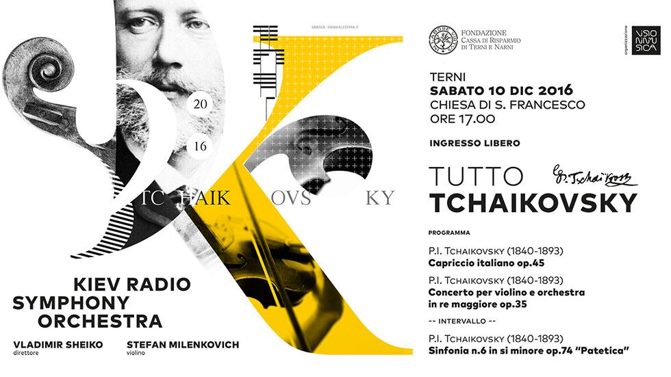 """Concerto di Natale 2016 """"Tutto Tchaikovsky"""""""