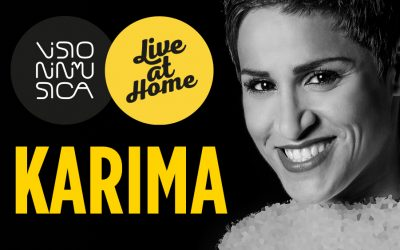 """Karima """"Live at Home"""""""
