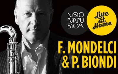 "Federico Mondelci & Paolo Biondi""Live at Home"""